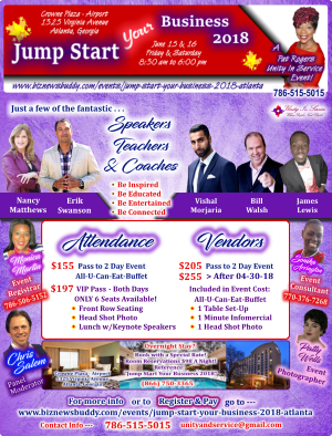 Flyer - JumpStart Your Business 2018